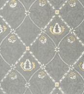 Pure Morris Trellis Lightish Grey 029104