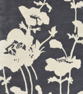 Florence Broadhurst Floral 300 Charcoal 039604