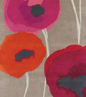 Sanderson Poppies Red/Orange 45700