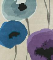 Sanderson Poppies Indigo/Purple 45705