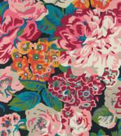 Sanderson Rose & Peony Cerise 45005