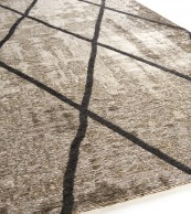 Brinker Carpets Cross Silver Grey
