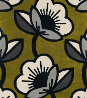 Orla Kiely Passion Flower Olive 059607