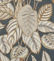 Sanderson Calathea Charcoal 050805
