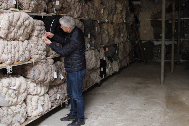 De Munk Carpets Berber garens